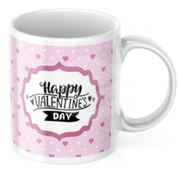 """Cana personalizata """"Happy Valentine's Day"""""""