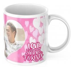 "Cana personalizata ""Love you forever"""