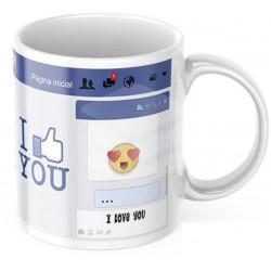 """Cana personalizata """"Facebook"""""""