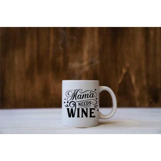 "Cana cu mesaj ""Wine"""