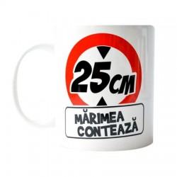 """Cana """"25 CM Marimea conteaza"""""""
