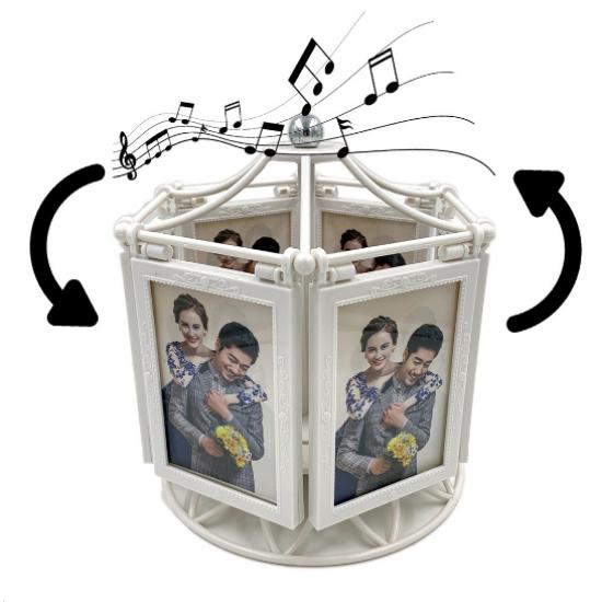 Carusel muzical cu fotografii