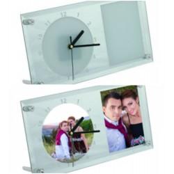 Ceas din sticla personalizat