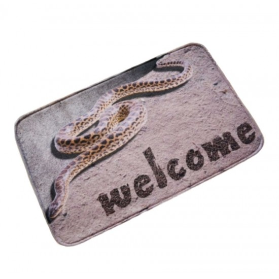 "Covoras din plus de interior ""Welcome"""