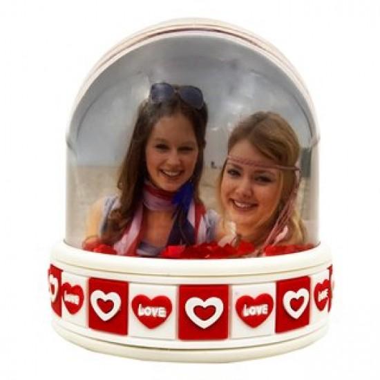 Glob personalizat cu led multicolor - Love