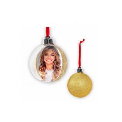 Glob personalizat cu spate auriu 7,5 cm