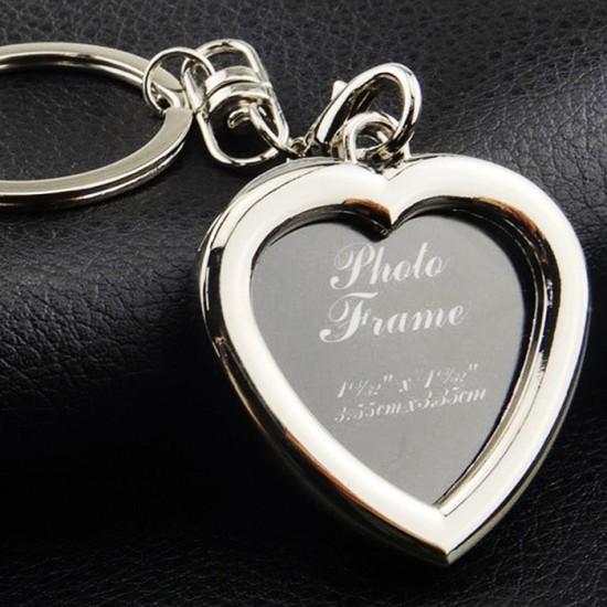 Breloc inima personalizat