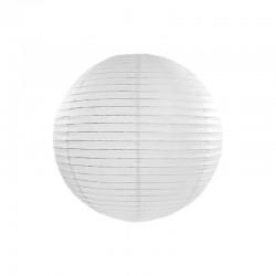 Lampion alb 30 cm