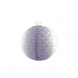 Lampion realizat din hartie – Design Dantelat – Mov (30 CM)