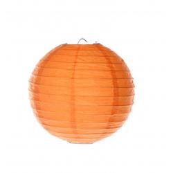 Lampion portocaliu 40 cm