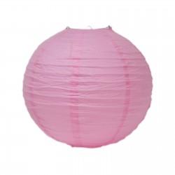 Lampion roz-deschis 30 cm