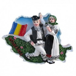 Magnet Harta Romania