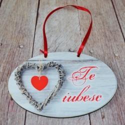 """Plachet """" Te iubesc"""""""