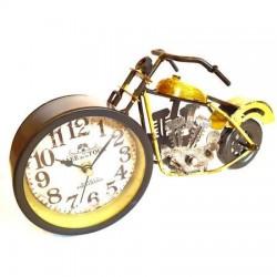 Motocicleta din metal cu ceas 30 cm