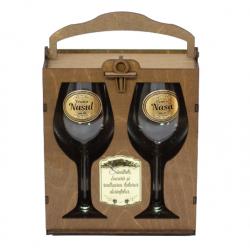 Set cadou pahare vin pentru nasi